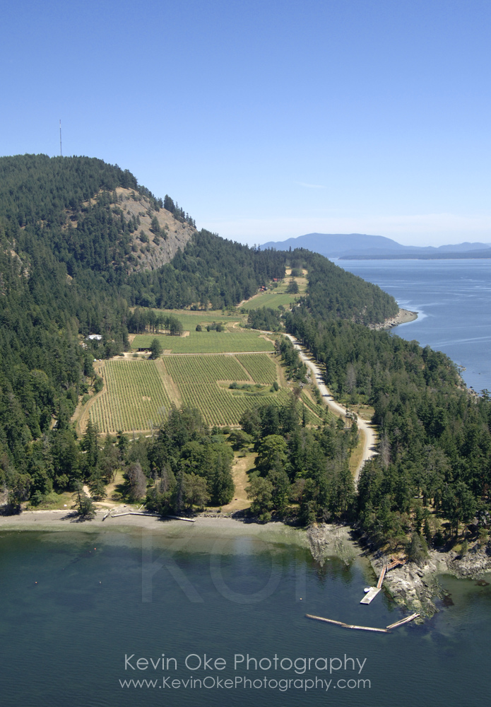 The Saturna Island Family Estate Winery, Saturna Island, British Columbia, Canada.