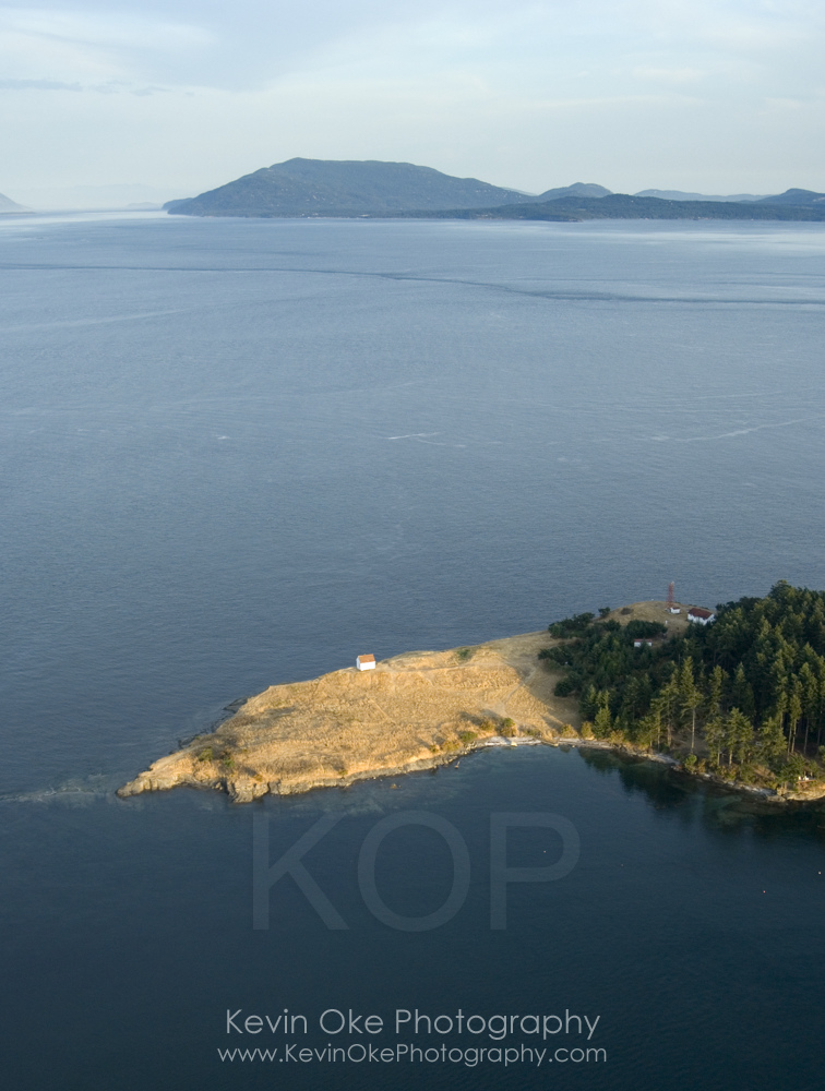 East Point Lightstation, Gulf Islands National Park Reserve of Canada, Saturna Island, British Columbia, Canada.