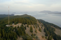 Mt. Warburton Pike, Gulf Islands National Park Reserve of Canada, Saturna Island, British Columbia, Canada.