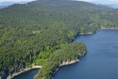 Narvaez Bay, Gulf Islands National Park Reserve of Canada, Saturna Island, BC.