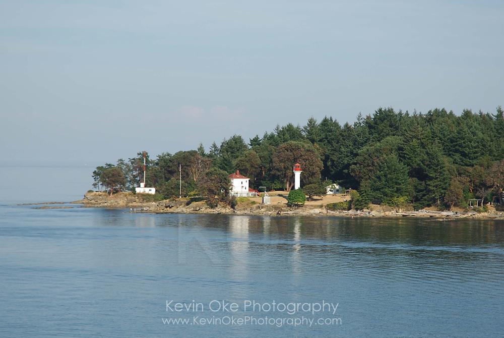 The lighthouse at Georgina Point, Mayne Island