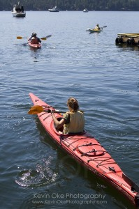 Kayaking in the Southern Gulf Islands