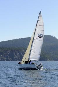 Sailing in the Gulf Islands