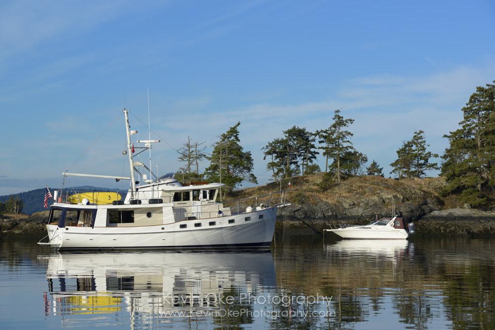Portland Island, Gulf Islands National Park Reserve of Canada, Southern Gulf Islands, British Columbia, Canada.