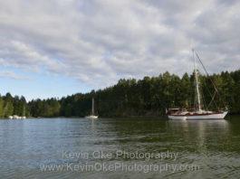 James Bay, Prevost Island anchorage
