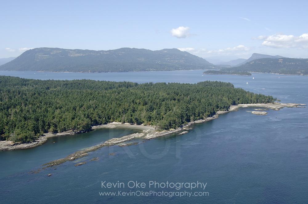 Portland Island, Southern Gulf Islands, British Columbia, Canada.