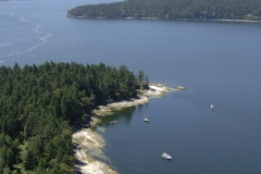 Russell Island, Gulf Islands National Park Reserve of Canada, British Columbia, Canada.