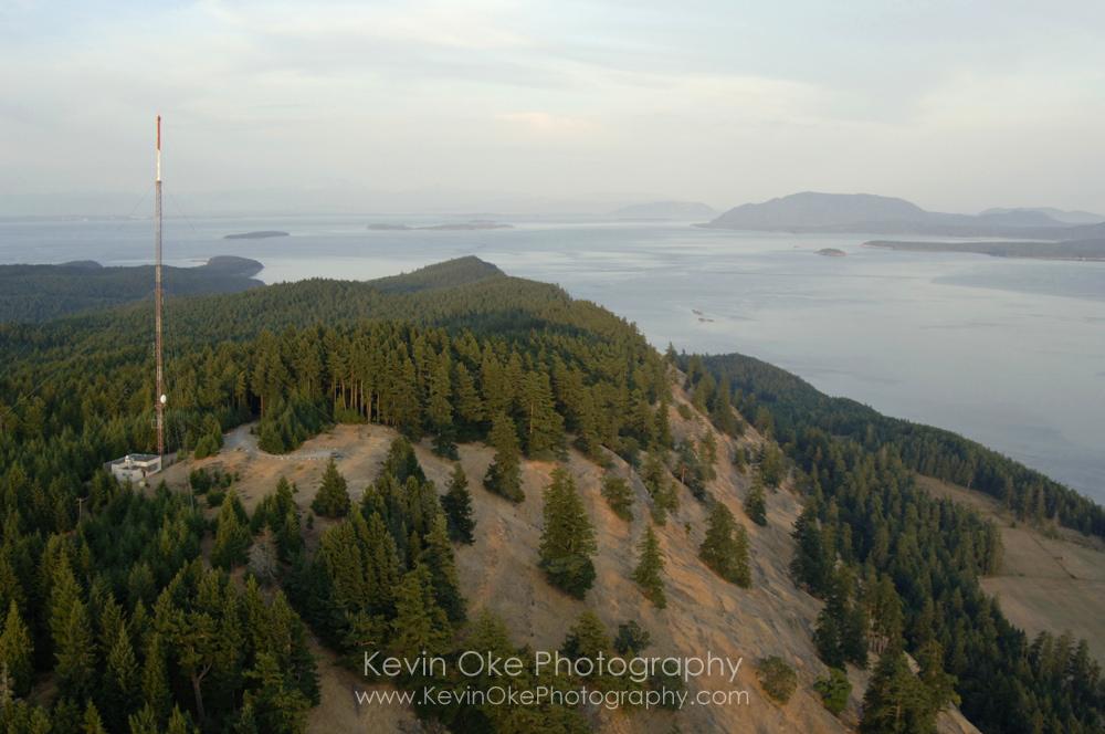 Mt. Warburton Pike, Gulf Islands National Park Reserve of Canada, Saturna Island, British Columbia, Canada.