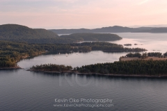 Winter Cove, Gulf Islands National Park Reserve of Canada, Saturna Island, British Columbia, Canada.