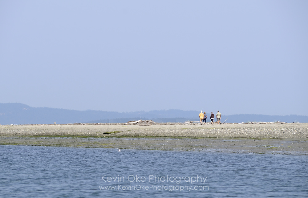 Sidney Spit, Gulf Islands National Park Reserve of Canada