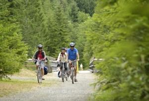 Cycling in the Gulf Islands
