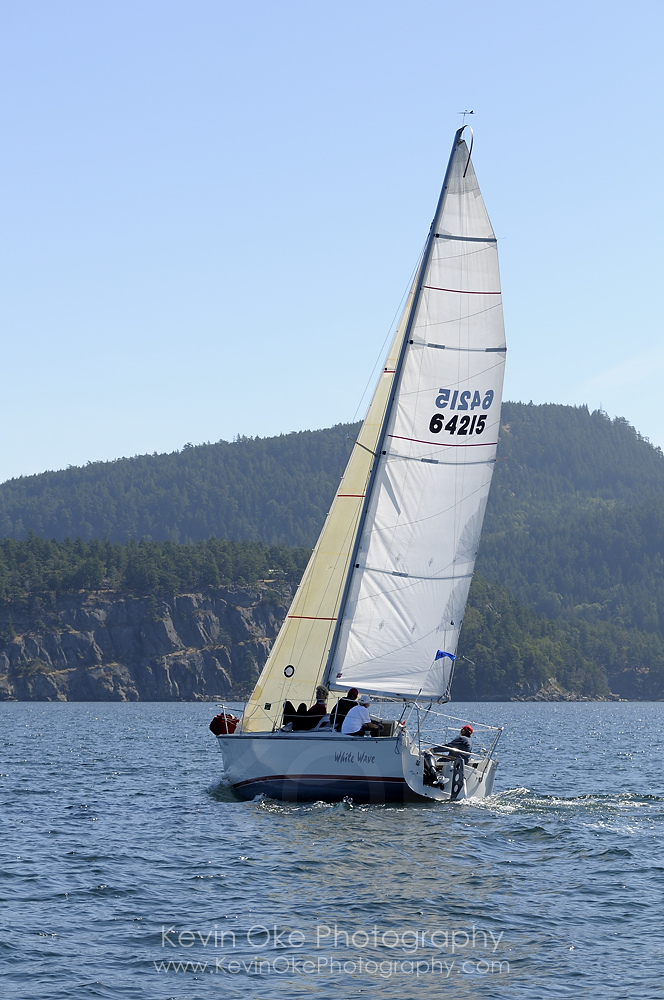 Sailing in the Gulf Islands