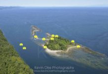 Cabbage Island photo tour