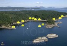Princess Bay Portland Island photo map